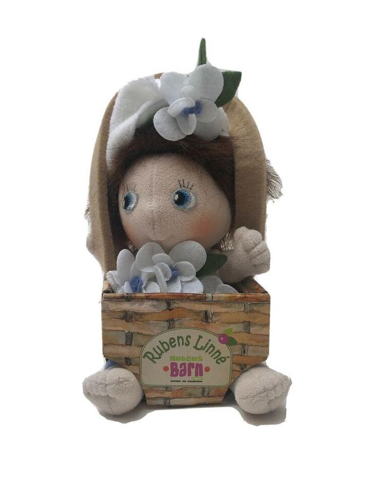 Rubens Barn Linn 233 Doll Handmade Soft Doll Fao Schwarz