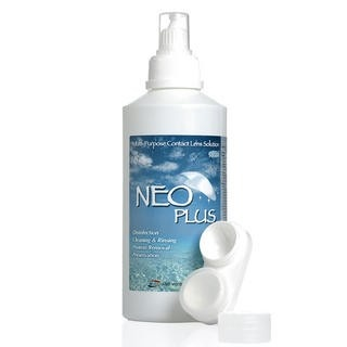 NEO Plus lens solution for circle lens and colored contacts (http://www.eyecandys.com/neo-plus-multi-purpose-contact-lens-solution/)