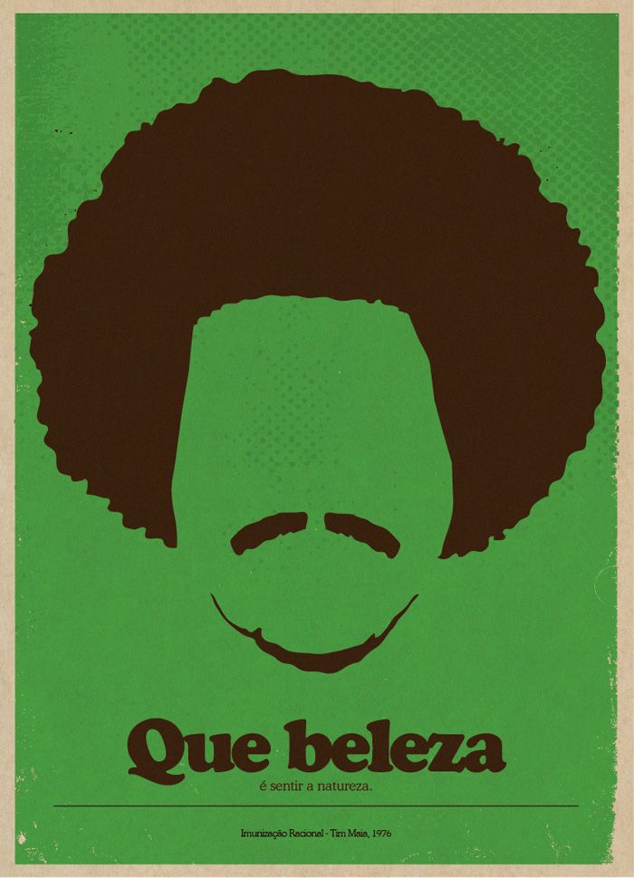 Posters of brazilian famous singers