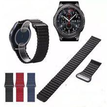 22mm Genuine Leather Watch Band Quick Release Strap for Samsung Gear S3 Classic  Frontier watchbands Buckle Wrist Belt Bracelet //Цена: $15 руб. & Бесплатная доставка //  #computers #laptops