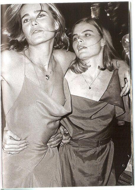 Mariel & Margaux Hemingway @violetgrey