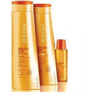 Joico Smooth Cure Shampoo and Conditioner (10.1 oz ea) + Leave-In Rescue Treatment 1.7 oz by Joico. $35.50. treatment 1.7 oz. joico smooth cure shampoo and conditioner 10.oz + leave-in rescue. smooth cure shampoo and conditioner leave-in rescue treatment 1.7oz