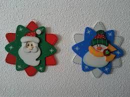 adornos de navidad en goma eva - Buscar con Google