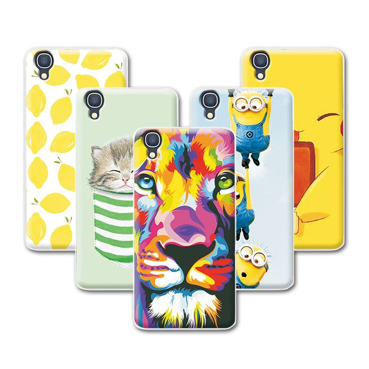 >> Click to Buy << Fruit Art Print Minions Banana Design Case For Alcatel One Touch Idol 3 (4.7 inches) 6039 6039A 6039K 6039Y +Pen Gift #Affiliate