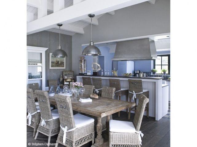 Grande cuisine americaine chambre rose fushia et gris for Grande cuisine americaine