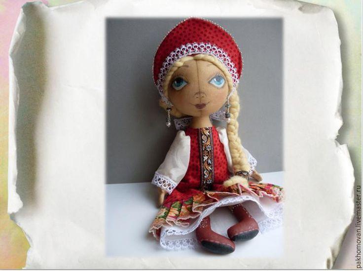 Robe couture de poupée dans le style russe - Maîtres - Foire à la main, main