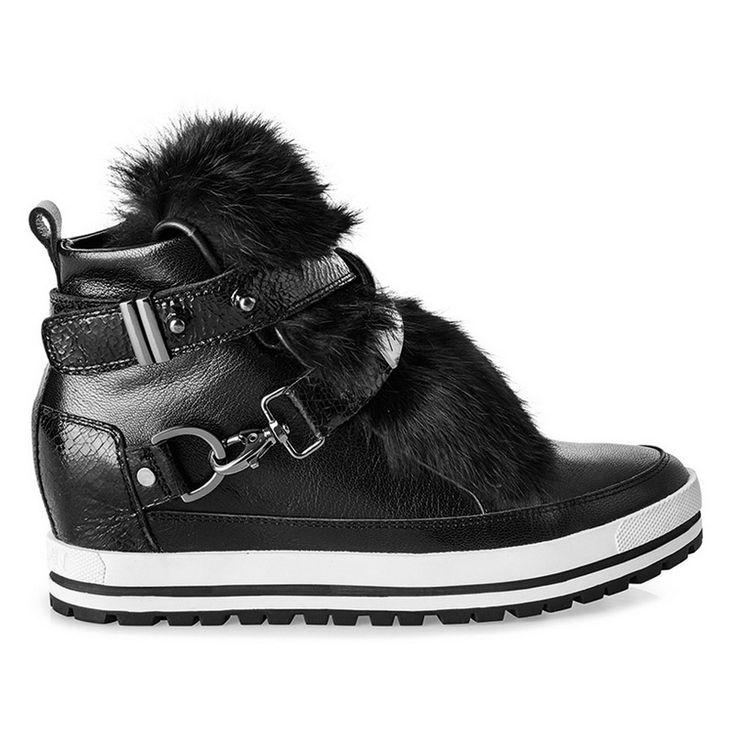 Зимняя обувь 2017. Спортивный стиль. Кеды