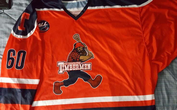 Peterborough Timbermen Goalie Cut Jersey