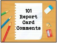 It's report card season! Use these tips to help you write positive report card comments that give parents and future teachers an accurate picture of each students classroom performance.