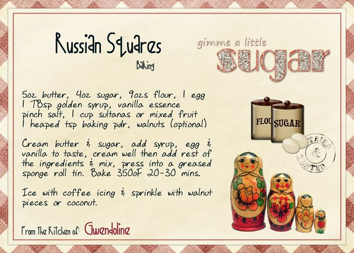 Russian Squares