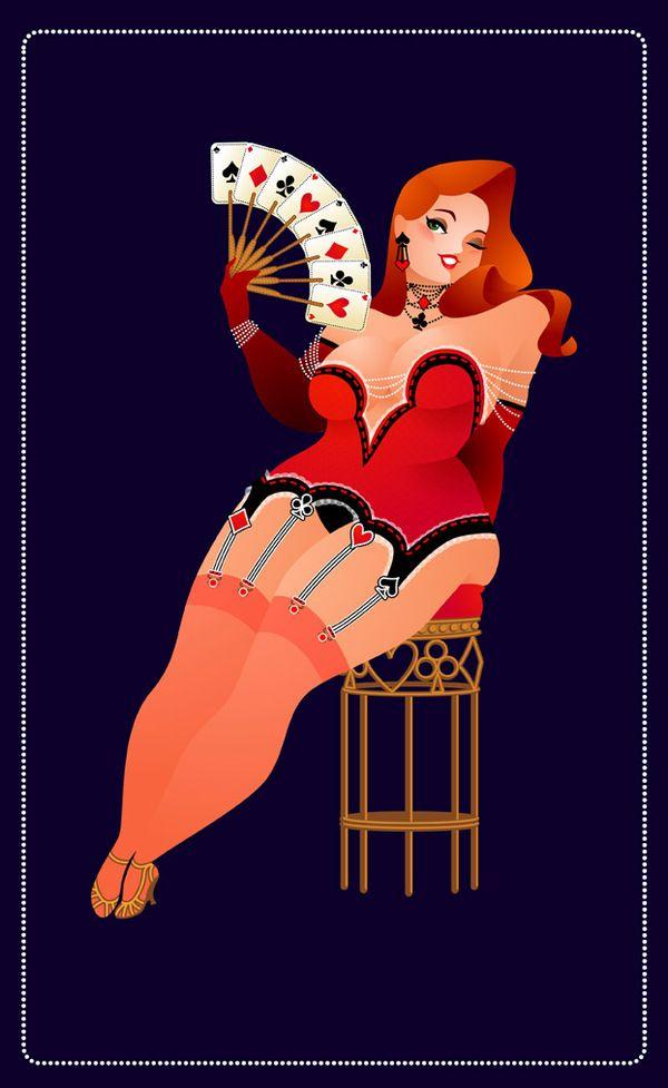Burlesque by Steffi Schuetze, via Behance