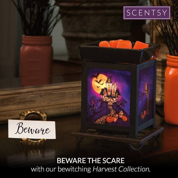 HOUSE ON HAUNTED HILL SCENTSY WARMER Beware the blood moon and a house black as night — the reddest glow doesn't reveal what's hidden in shadow. https://gretajansen.scentsy.us/Buy/ProductDetails/33114
