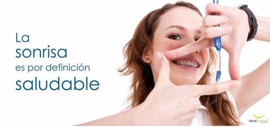 La Sonrisa es por definición saludable.
