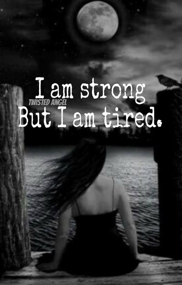 Tired of feeling this awful, horrific, pain....