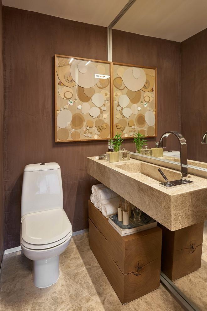 Vaso Sanitário 55 Modelos para Inspirar e Dicas para Você -> Decoracao De Banheiro Com Vaso Sanitario Preto