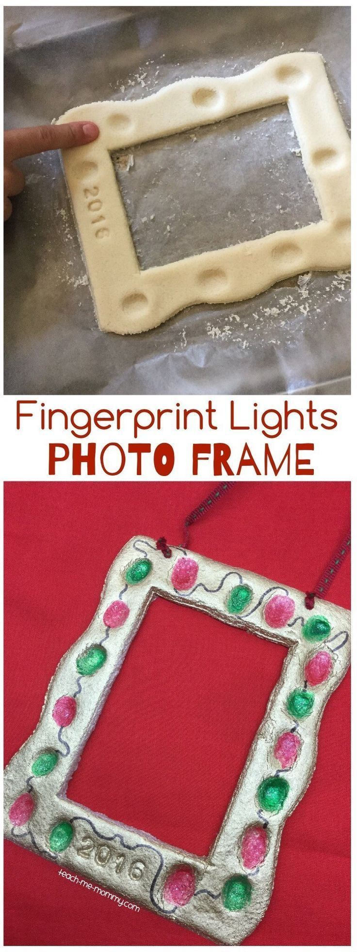 Christmas Picture Frame Craft Ideas Part - 30: Over 29 DIY Homemade Salt Dough Ornaments For The Kids To Make This  Christmas!