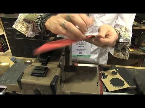 Tim Holtz demos Mixed Media 2 Thinlits - CHA 2016 - YouTube