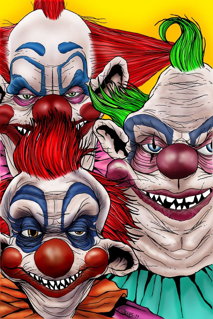 Killer Klowns from Outer Space tattoo.