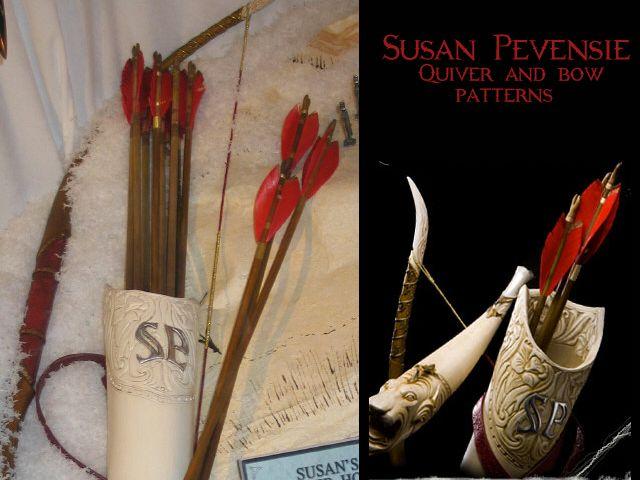 Susan Pevensie - Saint Nicholas Gifts quiver download pattern