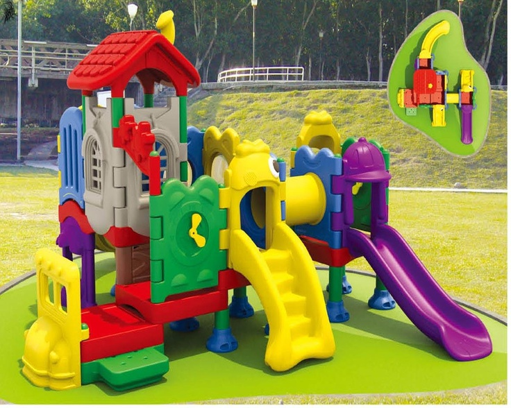 Charmant Plastic Castle Playhouse