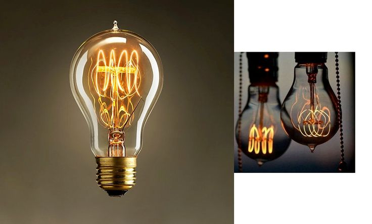 Cool 10 Edison Light Bulbs Comparative  #Antique #Design #Edison #Glass #Huge #Industrial #LED #LightBulb #Metal #Retro #Steampunk #Steel #Vintage  1 - Antique Vintage style Edison Light bulbs E 27 40w 60w 110v 220v T64    Vintage style incandescent lamp light historically accurate, beautifu...