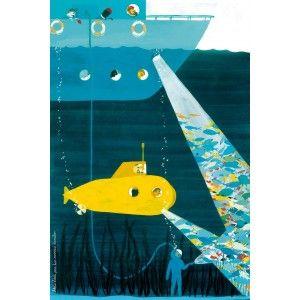 poster: Wall Art, Kids Wall, The Life Aquatic, Art Prints, Valeriovidali, Kids Styles, Kids Art, Art Kids, Valerio Vidali