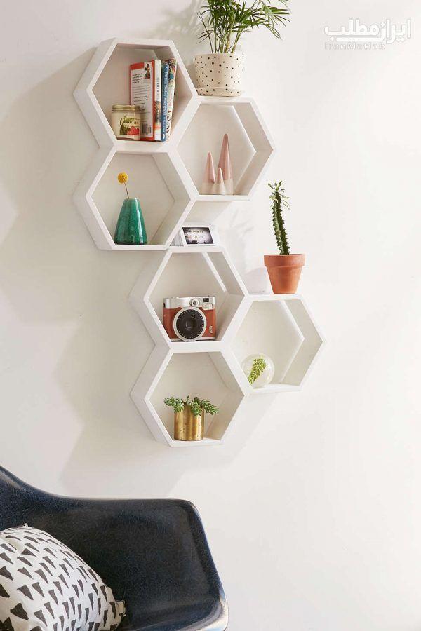 15 Amazing Hexagon Shelf Ideas Unique Wall Shelves Wall