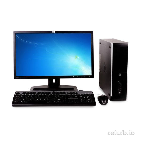 """*Manufacturer: HP *Model #: COMPAQ 8000 ELITE *Form Factor: SFF *CPU: INTEL CORE 2 DUO E8600 3.3Ghz *Memory: 4GB *Memory Type: DDR3 *HDD: 1TB *Hard Drive Type: SATA *Optical: DVD *Monitor: 22"""" WIDE LCD *O/S: WINDOWS 7 PROFESSIONAL (W7P), MICROSOFT AUTHORIZED REFURBISHER (MAR) *Keyboard & Mouse: YES"""