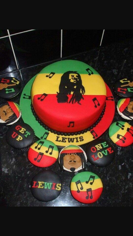 Rasta cake & cupcakes