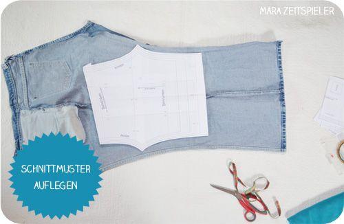 die besten 25 jeans n hen ideen auf pinterest jeans. Black Bedroom Furniture Sets. Home Design Ideas