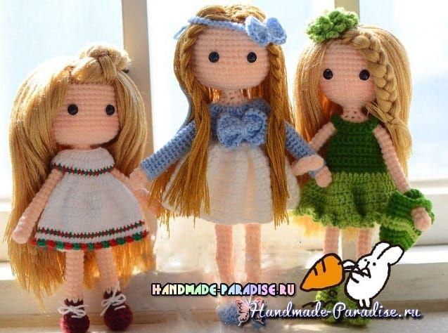 ganchillo amigurumi arcos para las muñecas (3) ♡ cute dolls