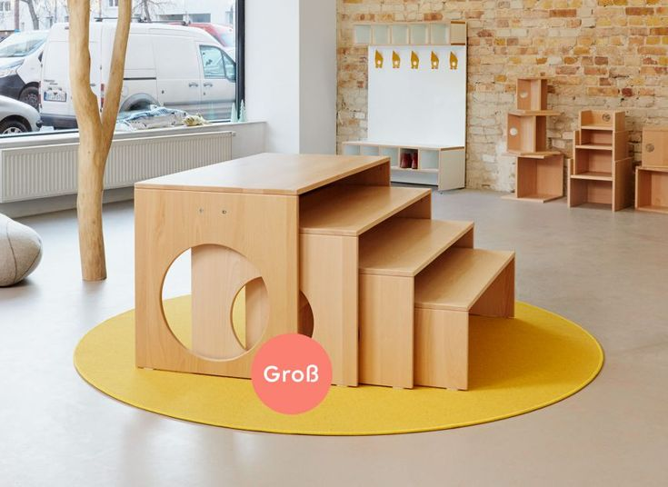 Tische – papoq #kindergarten #kindermoebel #papoq #stauraum #kidsdesign #kidsfurniture #kitaausstattung