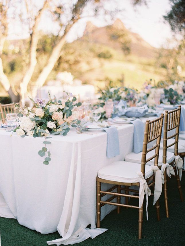 14 Gorgeous Pastel Wedding Decor Ideas to Get You Excited for Spring via Brit + Co
