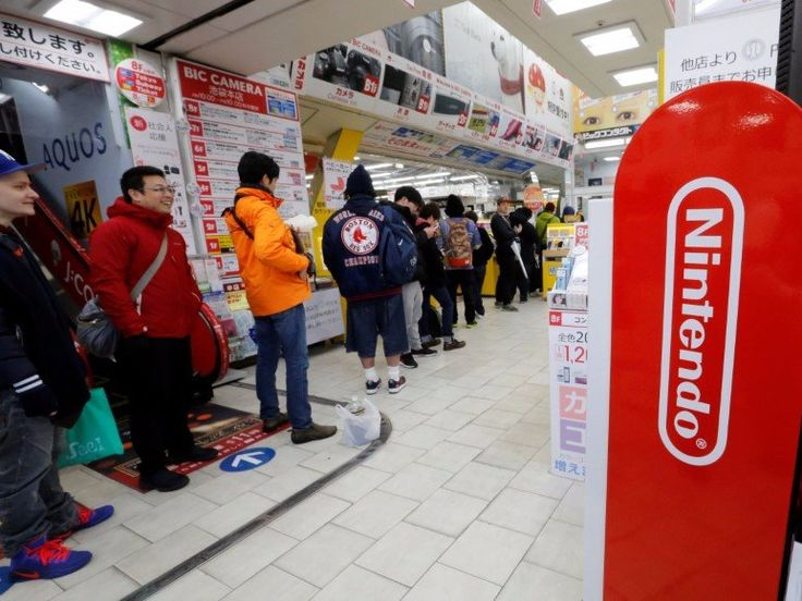 Nintendo Switch sales are 'much stronger' than the PS4