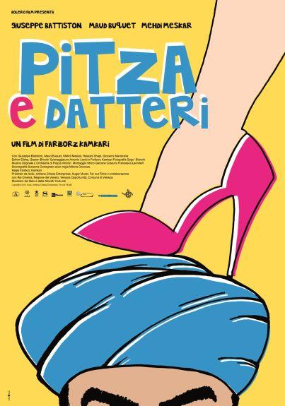 Film: Pitza e datteri (film, commedia) diretto da Fariborz Kamkari con Giuseppe Battiston, Maud Buquet, Mehdi Meskar, Hassani Shapi, Giovanni Martorana ...  dal 28 maggio 2015 al #cinema #film #trailer