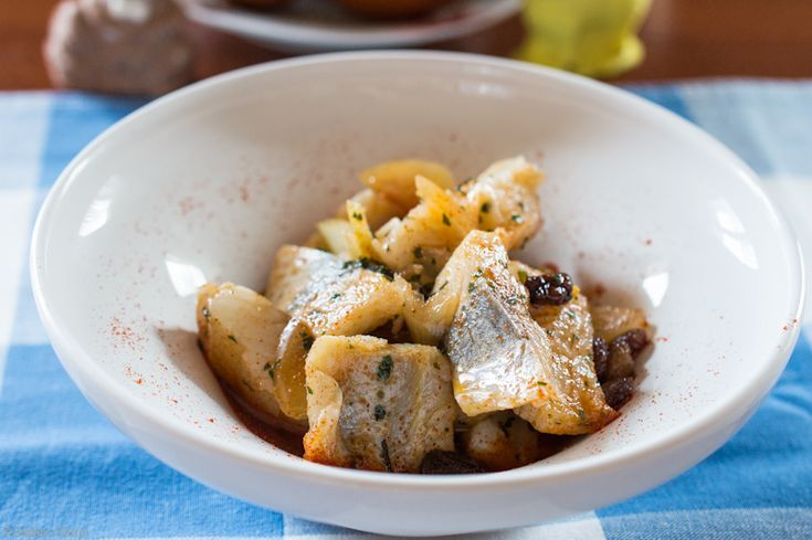 Herring with pepper and lovage