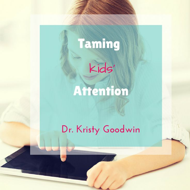 Our kids live in a digital smorgasbord where they're drooling over screens for increasing periods of time each day. And this digital bombardment is changing their attention.