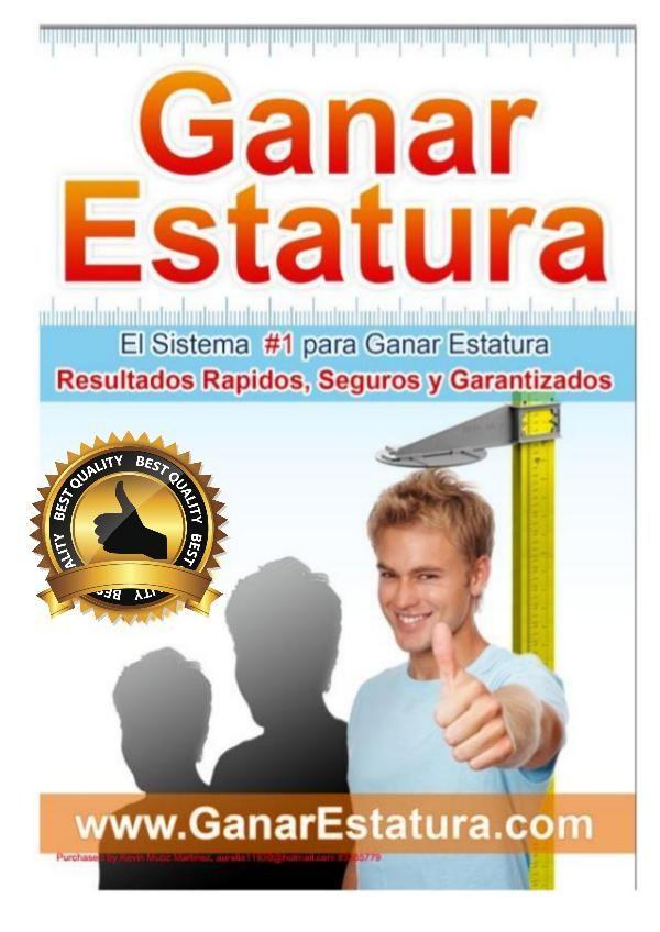 Ganar Estatura Pdf Libro Completo Luis Garcia Descargar Ganar Estatura Pdf Gratis Good Photo Editing Apps Online Job Search Ebook
