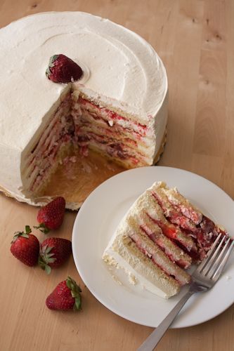 Smith Island Cakes, Strawberry