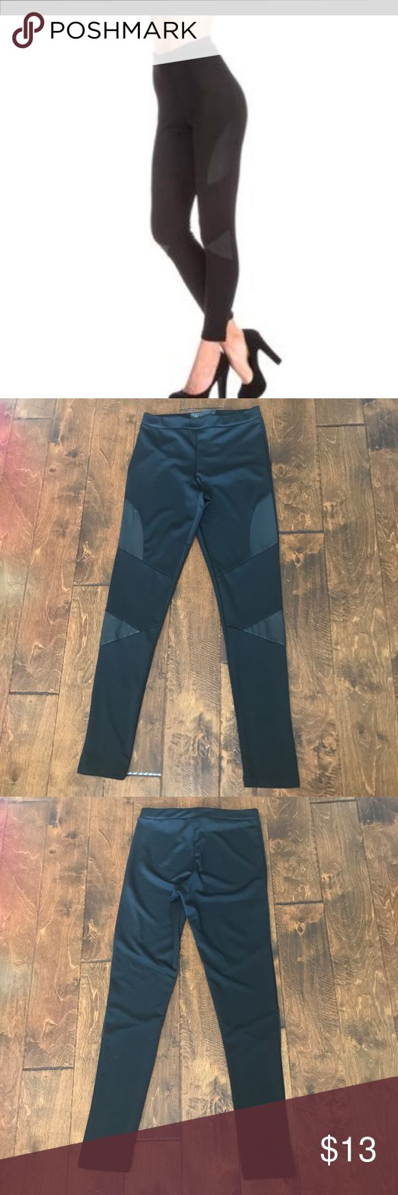 Kim Kardashian Leggings Kim Kardashian Collection, black leggings. Sz medium.  96% Polyester 4% elastane. Only wore once. In excellent condition! No rips or stains. Kim Kardashian Collection Pants Leggings