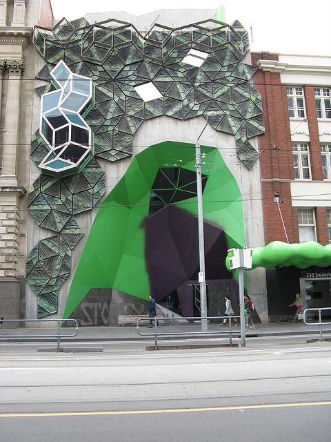 Storey Hall, RMIT (Royal Melbourne Institute of Technology). I still shudder