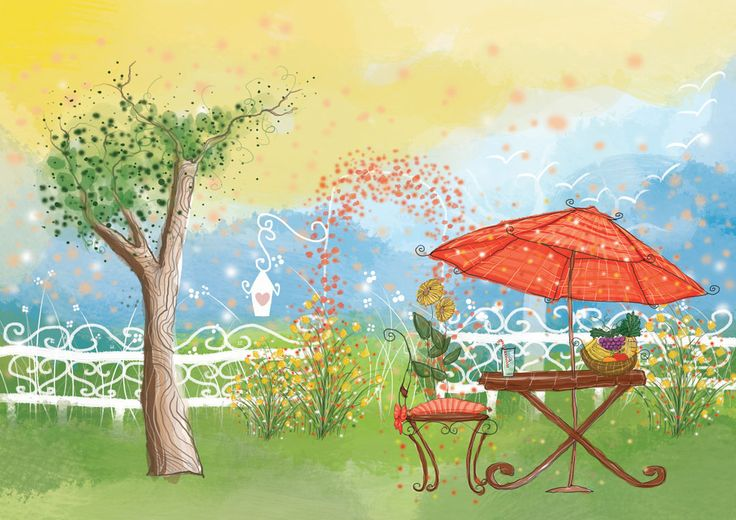 Kaori Yorado Children's Picture Book Illustrations