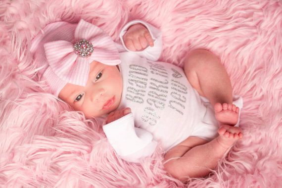 BABY GIRL clothes baby girl newborn girl going home by SkylarnMe