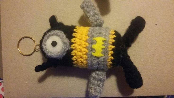 Batminion a crochet