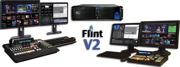 Ingest Many Cameras: Flint has up to 6 video inputs for cameras and other sources, including HDMI, Analog and optional HD SDI and SD SDI. With or without crew and/of camera's
