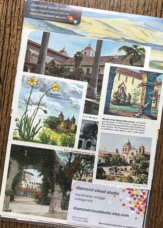 let s travel to the missions of california vintage us history