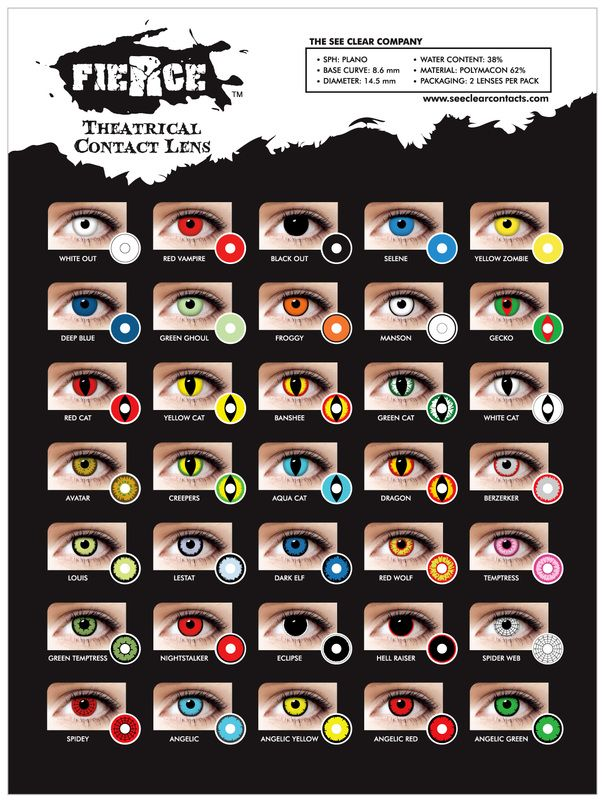 It's that time of year again like many national newspapers here at Valli Opticians we have published a blog warning party-goers and trick or treater's of the risks of wearing novelty contact lenses for the Halloween celebrations. Do you really want to risk blindness? Don't go to http://www.eleglancevision.com/fierce-collections.html go to a qualified registered opticians. To find out more visit http://www.valliopticians.co.uk/news/the-dangers-of-wearing-novelty-contact-lenses
