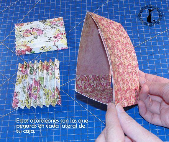 Carpeta con separadores - Tutorial paso a paso Cinderella 11