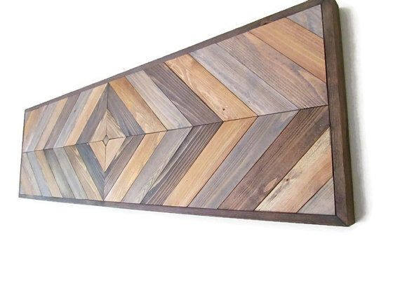 Chevron Wood Table, Console Table Top, Geometric Wood, DIY Table top, Chevron Sofa Table, Entry Table Top, Side Table Top, Southwest Decor by LakefrontWoods on Etsy https://www.etsy.com/listing/485554469/chevron-wood-table-console-table-top