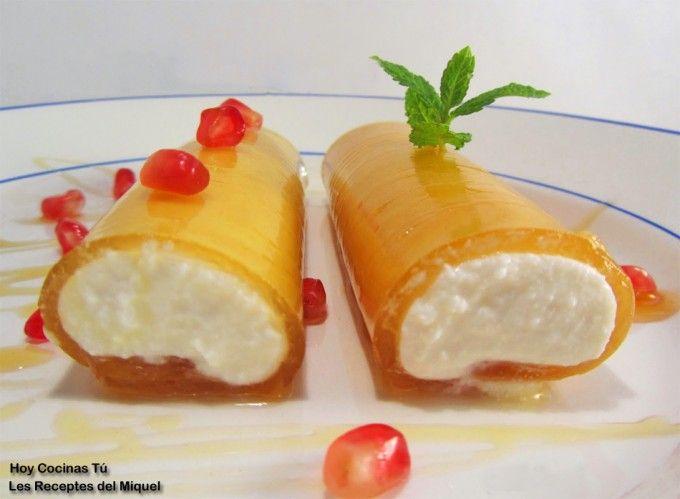 Hoy Cocinas Tú: Canelones de miel y requesón